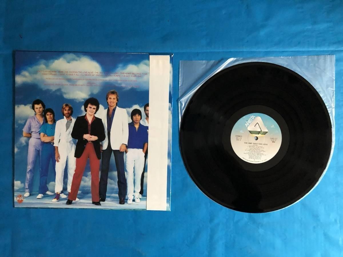 407 A0243 エア・サプライ Air Supply 1981年 LPレコード シーサイド・ラヴ One That You Love 中古美盤 国内版 帯付 AOR ②_画像5