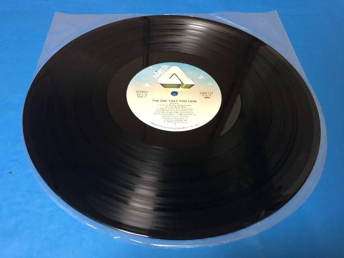 407 A0243 エア・サプライ Air Supply 1981年 LPレコード シーサイド・ラヴ One That You Love 中古美盤 国内版 帯付 AOR ②_画像7