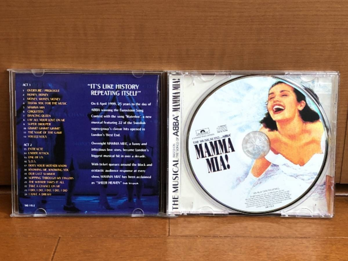 2101 A2661 Various Artists オムニバス CD「Mamma Mia! マンマ・ミーア!」中古良品 輸入盤_画像4