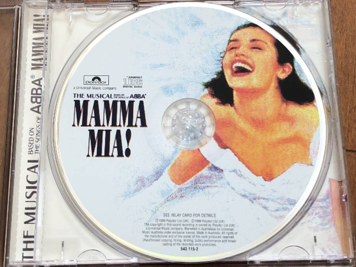 2101 A2661 Various Artists オムニバス CD「Mamma Mia! マンマ・ミーア!」中古良品 輸入盤_画像6