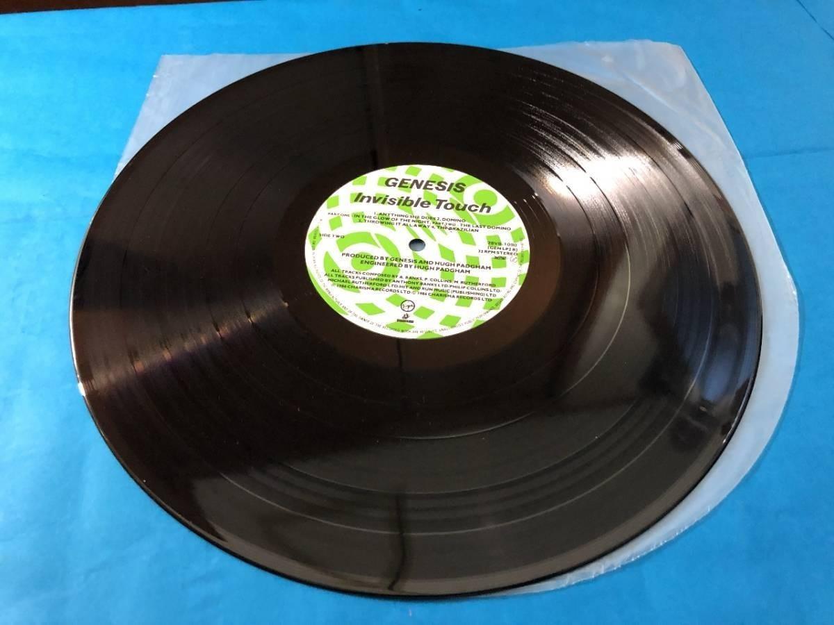 659 A0500 ジェネシス Genesis 1986年 LPレコード インヴィジブル・タッチ Invisible Touch 中古美盤 国内版 ロック ①_画像7