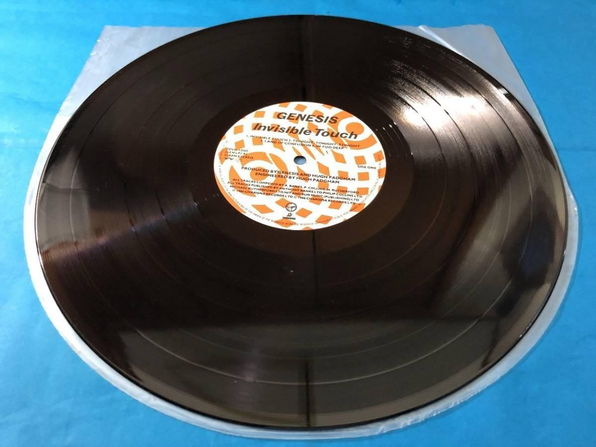 659 A0500 ジェネシス Genesis 1986年 LPレコード インヴィジブル・タッチ Invisible Touch 中古美盤 国内版 ロック ①_画像6
