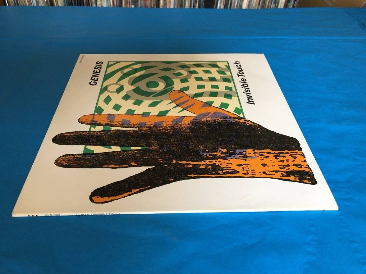 659 A0500 ジェネシス Genesis 1986年 LPレコード インヴィジブル・タッチ Invisible Touch 中古美盤 国内版 ロック ①_画像3