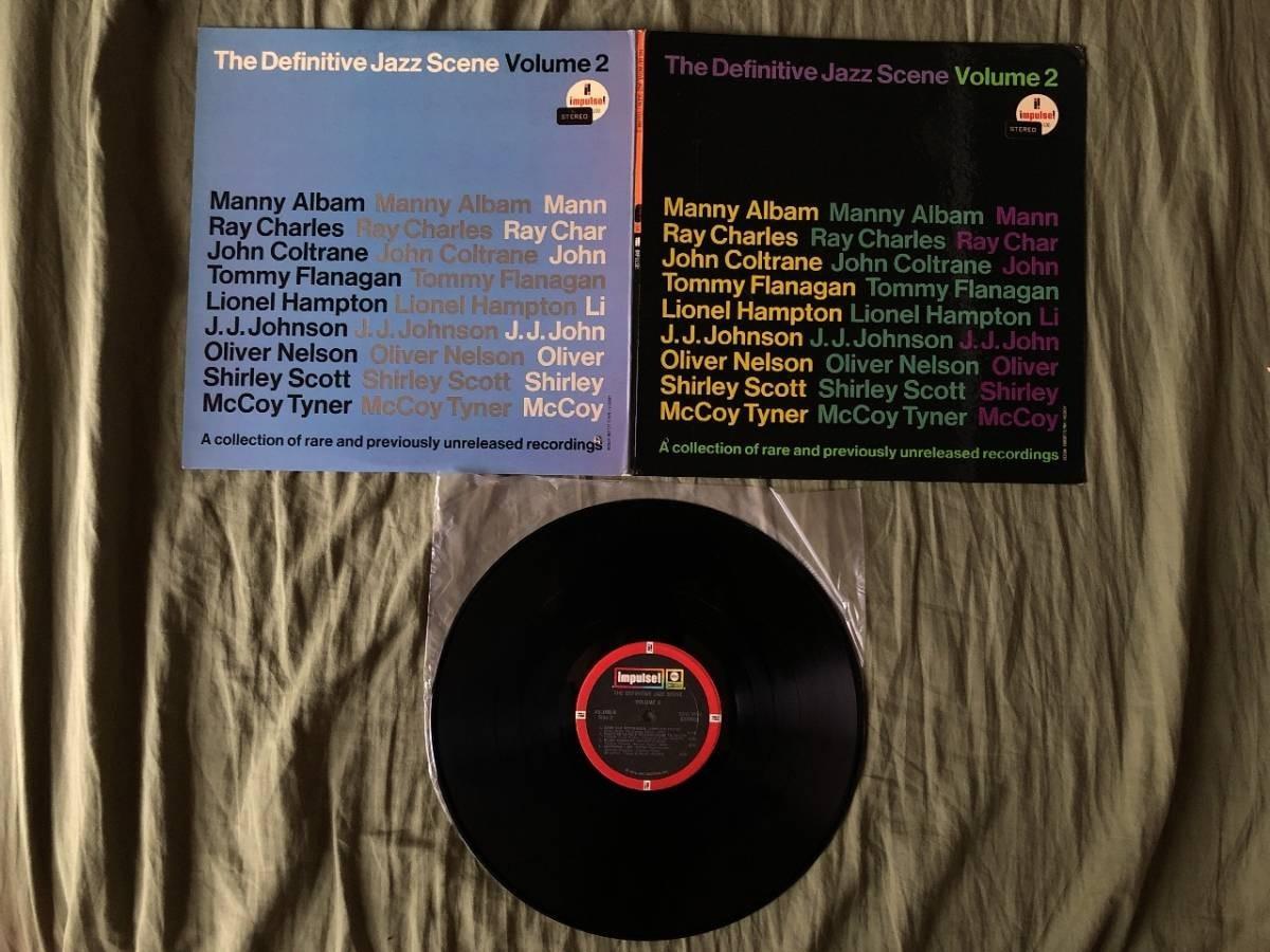 466 A0304 オムニバス 1972年 LPレコード The Definitive Jazz Scene Volume 2 中古良品 輸入盤 貴重盤 Ray Charles John Coltrane_画像5