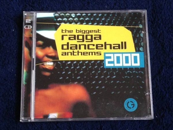 2189 A2758 セール Various Artists レゲエ オムニバス CD「Ragga Dancehall Anthems 2000」2枚組 中古良品 輸入盤_Biggest Ragga Dancehall Anthems 2000