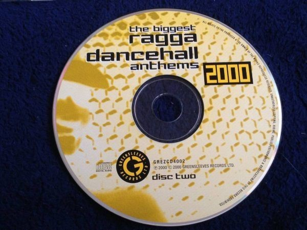 2189 A2758 セール Various Artists レゲエ オムニバス CD「Ragga Dancehall Anthems 2000」2枚組 中古良品 輸入盤_CD2