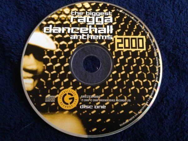 2189 A2758 セール Various Artists レゲエ オムニバス CD「Ragga Dancehall Anthems 2000」2枚組 中古良品 輸入盤_CD1