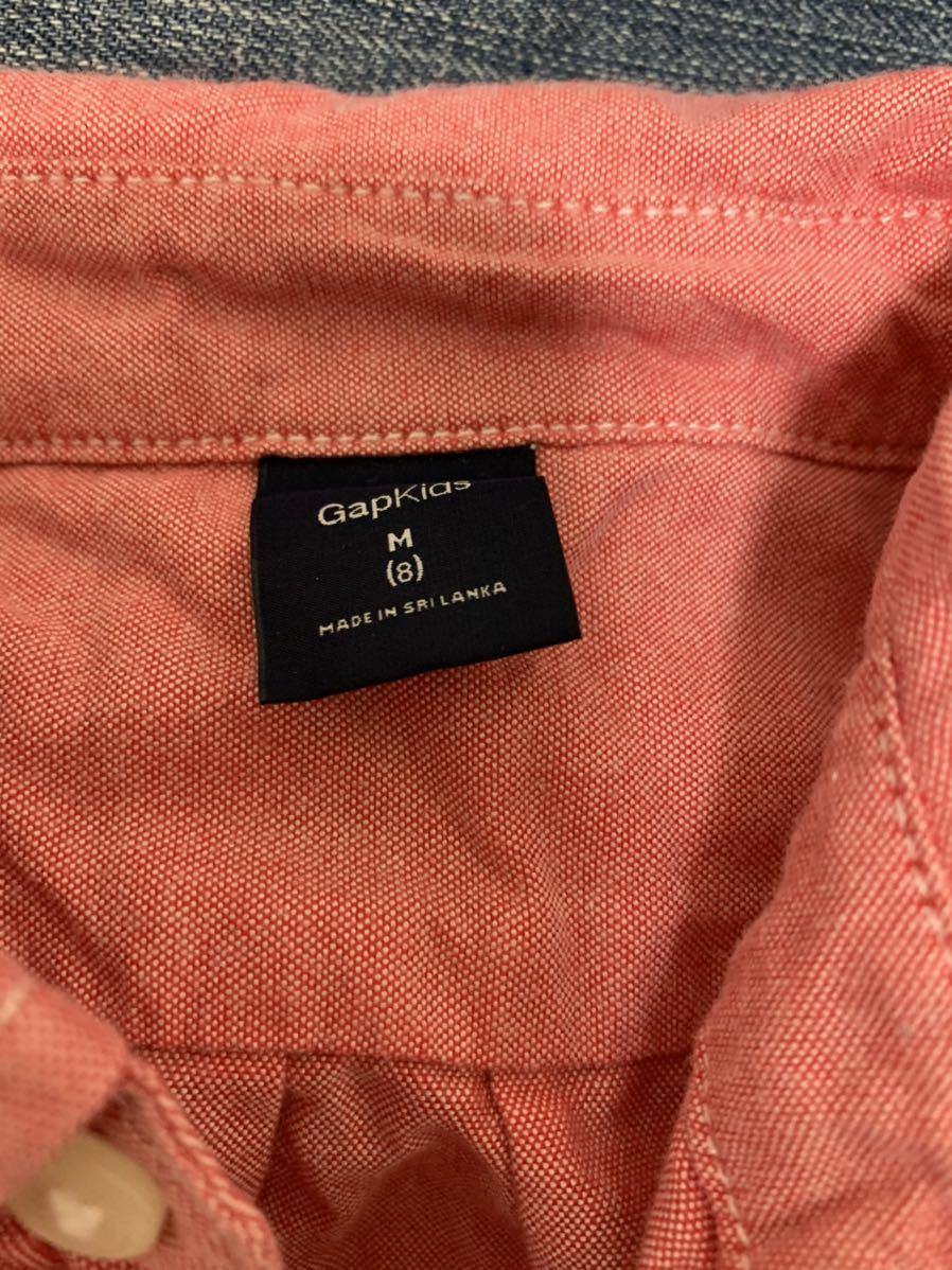 ☆送料込み GAPシャツM8 130センチ 3枚 ジーンズM10 140センチ セット販売です_画像6