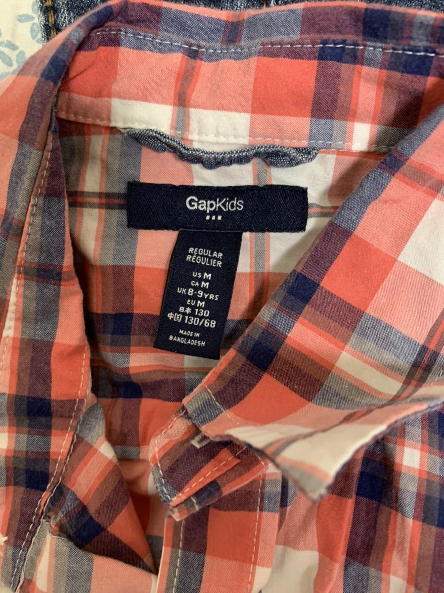 ☆送料込み GAPシャツM8 130センチ 3枚 ジーンズM10 140センチ セット販売です_画像7