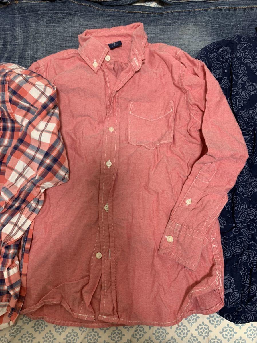 ☆送料込み GAPシャツM8 130センチ 3枚 ジーンズM10 140センチ セット販売です_画像3