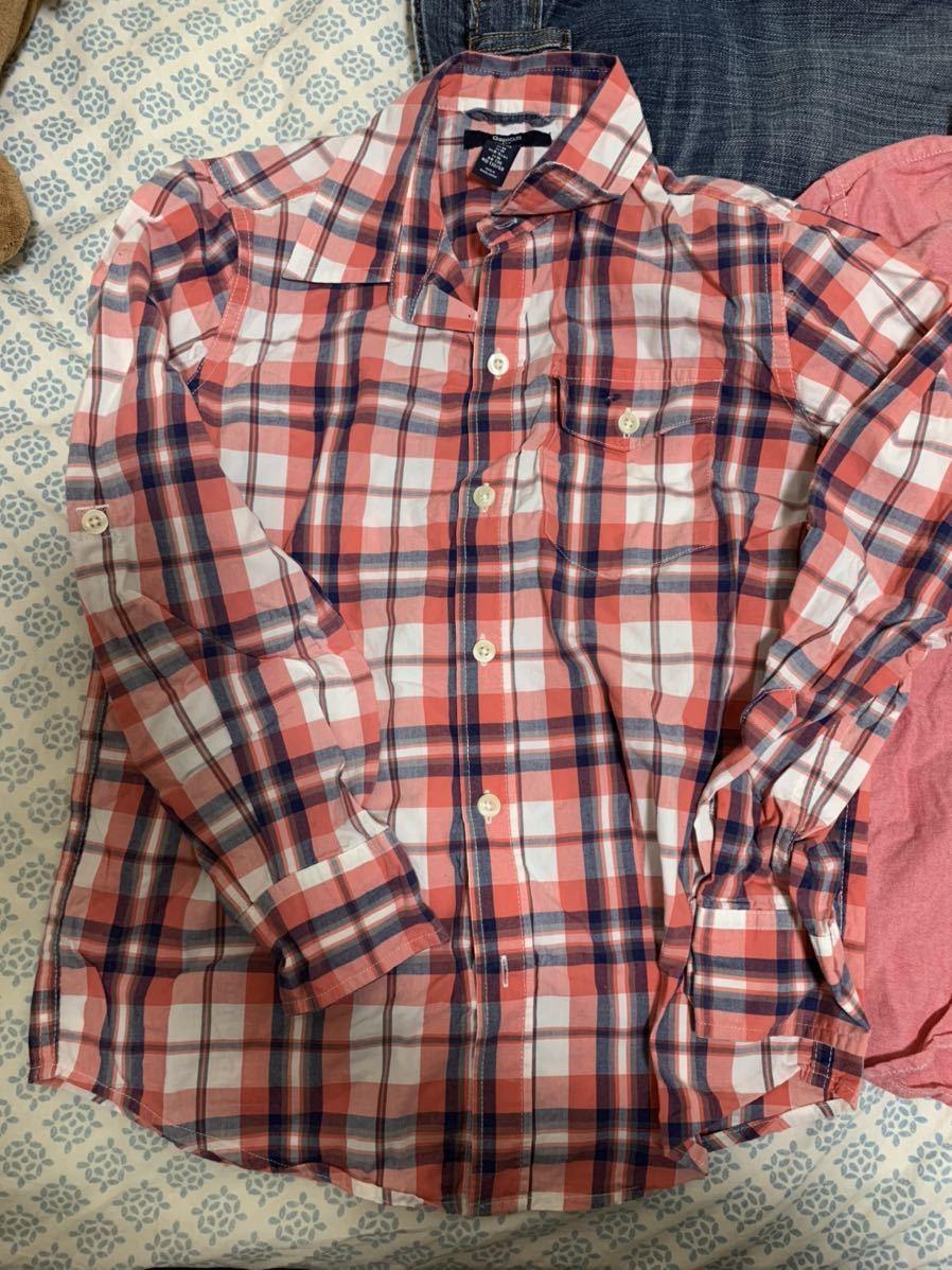 ☆送料込み GAPシャツM8 130センチ 3枚 ジーンズM10 140センチ セット販売です_画像4