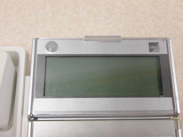 Ω ZZM1 9850◆) 保証有 13年製 きれいめ SAXA サクサ AGREA HM700 TD615(W) ・祝10000取引突破!!_画像4