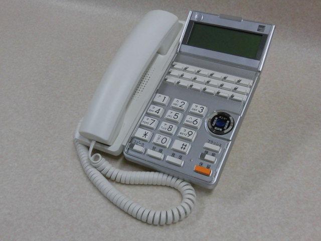 Ω ZR2 8342#保証有 TD615(W) サクサ SAXA AGREA 18ボタン電話機 13年製 中古ビジネスホン 領収書発行可・祝10000取引突破!!_画像1