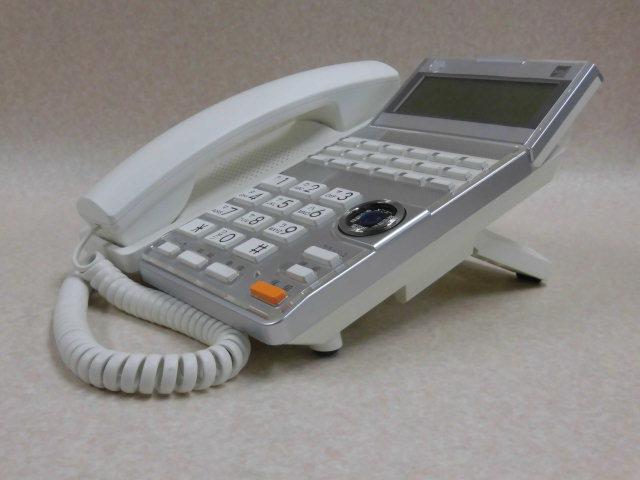 Ω ZR2 8342#保証有 TD615(W) サクサ SAXA AGREA 18ボタン電話機 13年製 中古ビジネスホン 領収書発行可・祝10000取引突破!!_画像6