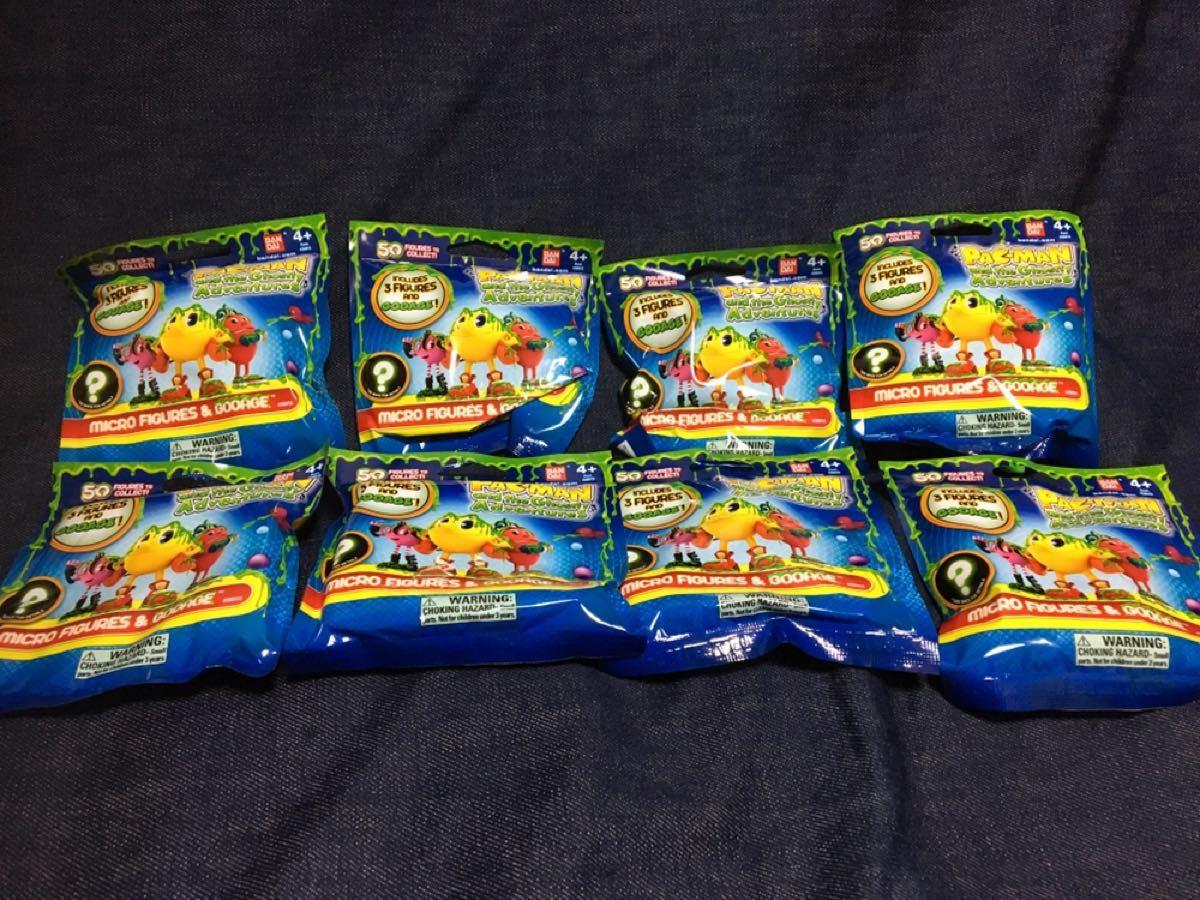 パックマン フィギュア スライム PAC-MAN  8パックセット