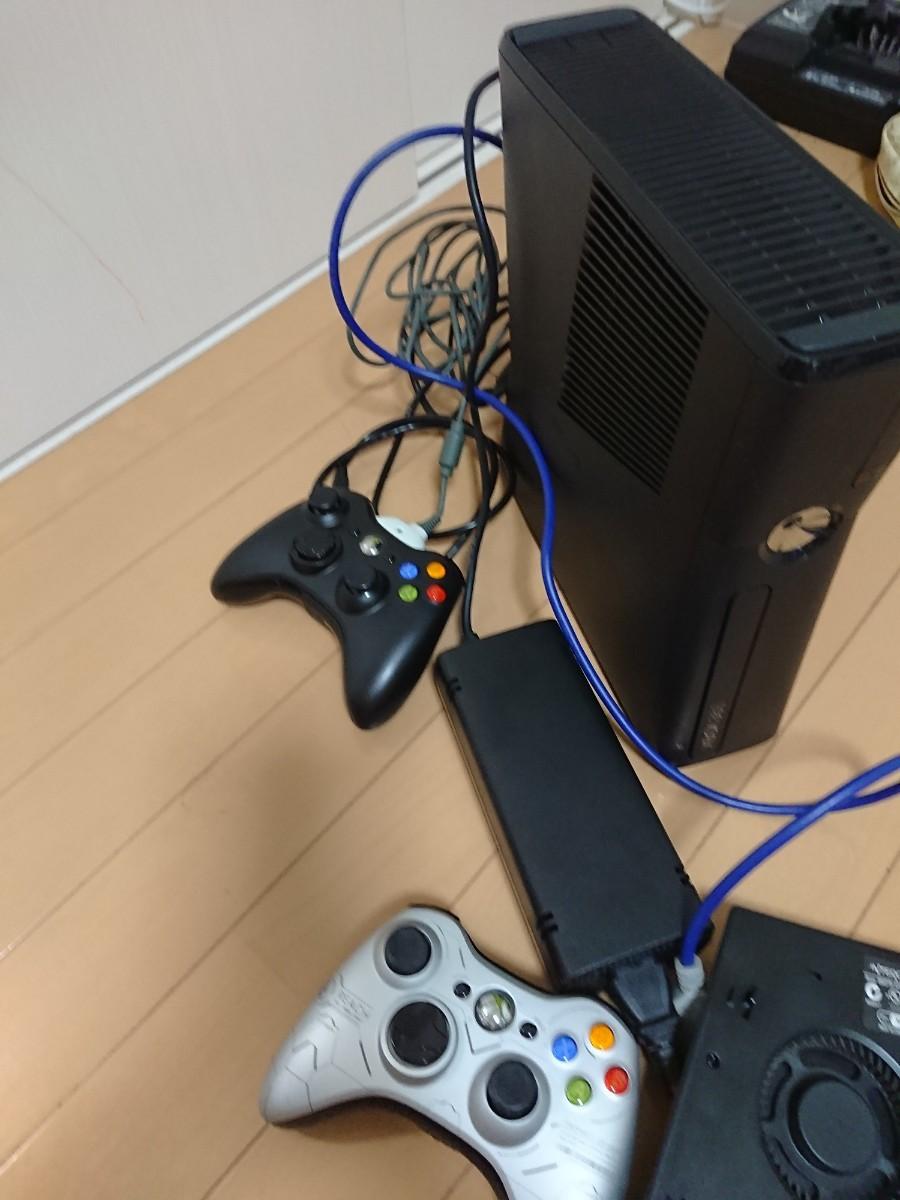 Xbox360ゲーム機本体+専用ファン 弟から譲り受けそれを流す~