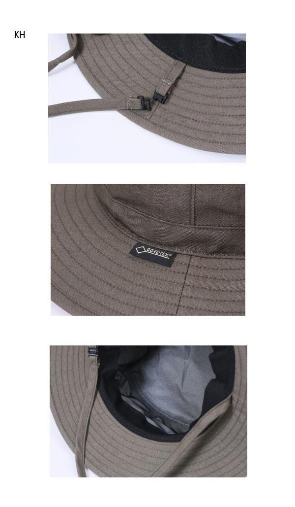 ☆Marmot マーモット 帽子 GORE-TEX ゴアテックス 59cm L カーキ デニム トレッキング ハット アウトドア