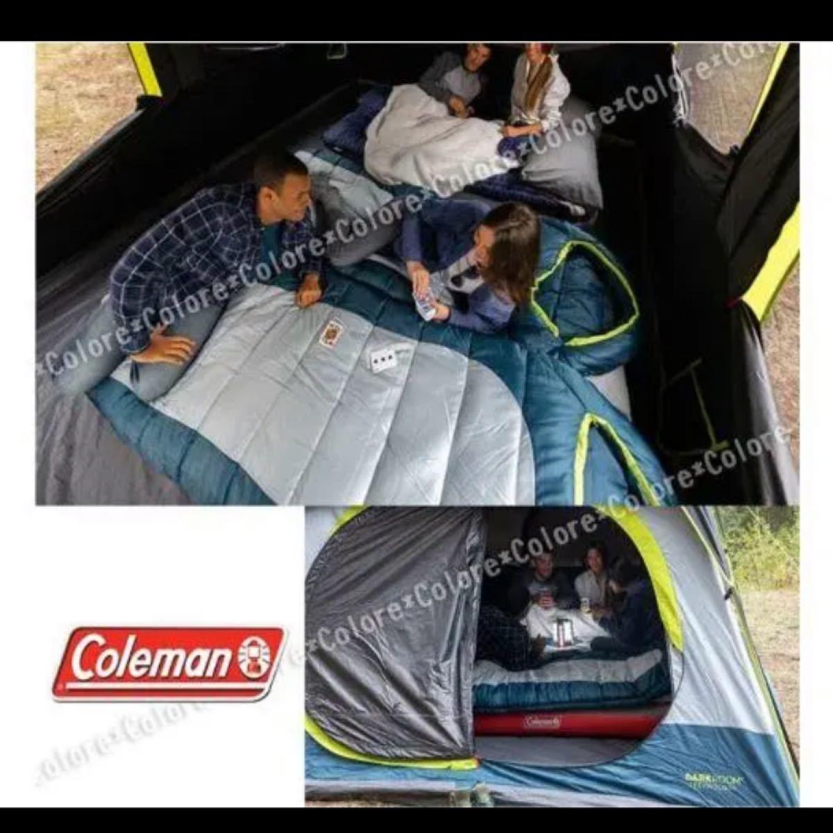 新品!!コールマン ハイブリッドスリーピング 寝袋