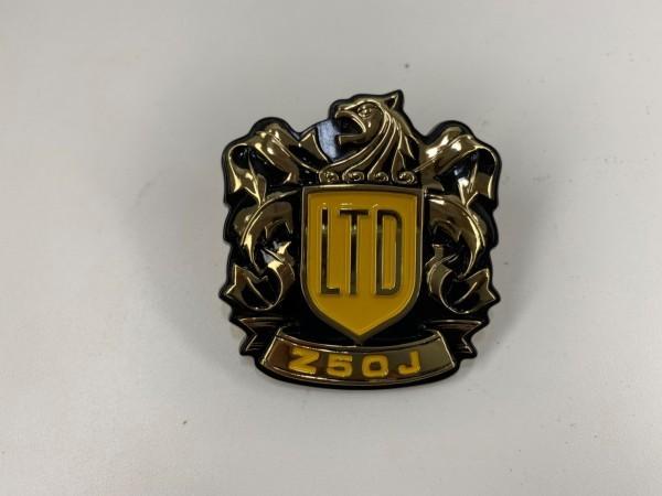 新品 ホンダ純正 Z50Jモンキー サイドカバー エンブレム ゴールドリミテッド 当時品 87125-165-870