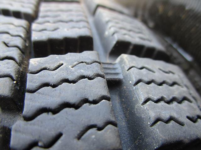 スタッドレス 175/65R14 ファルケン ESPIA EPZ 2012年製 8ミリ 社外アルミホイール 14×5.5J+42 100×4穴 4本セット_画像7