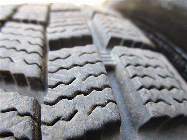 スタッドレス 175/65R14 ファルケン ESPIA EPZ 2012年製 8ミリ 社外アルミホイール 14×5.5J+42 100×4穴 4本セット_画像8