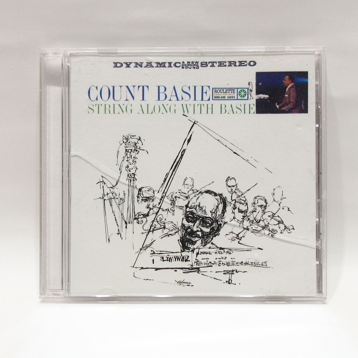 CD◆Count Basie / String Along With Basie◇カウント・ベイシー◆Roulette WPCR-16598_画像1