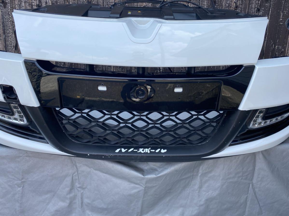 ルノー メガーヌ スポール RS 純正 フロント バンパー サポート ロアグリル デイライト カナード フォグ  セット カラー パール_画像4