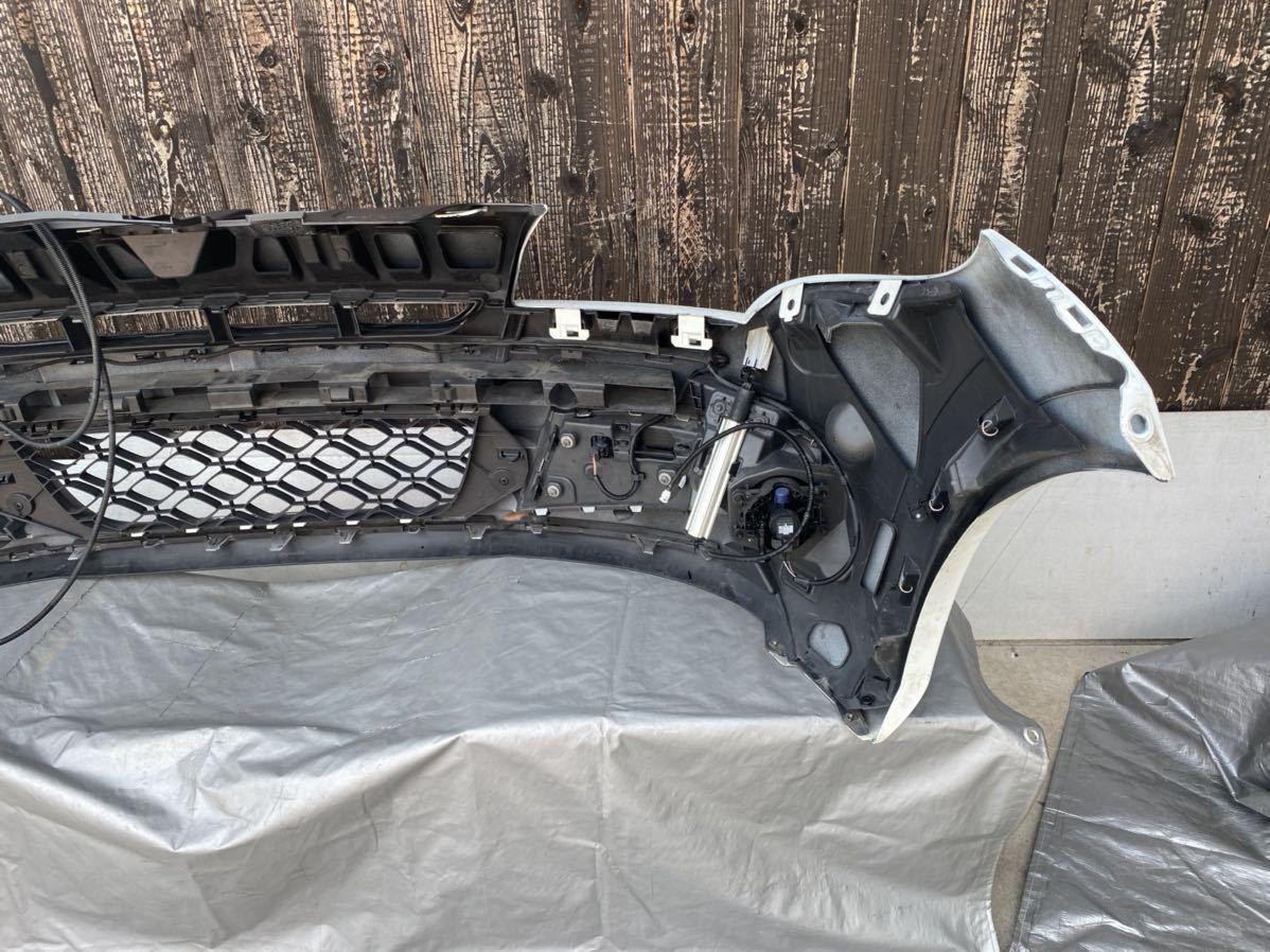 ルノー メガーヌ スポール RS 純正 フロント バンパー サポート ロアグリル デイライト カナード フォグ  セット カラー パール_画像7