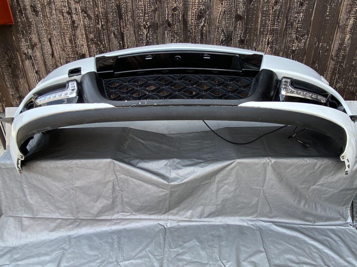ルノー メガーヌ スポール RS 純正 フロント バンパー サポート ロアグリル デイライト カナード フォグ  セット カラー パール_画像5