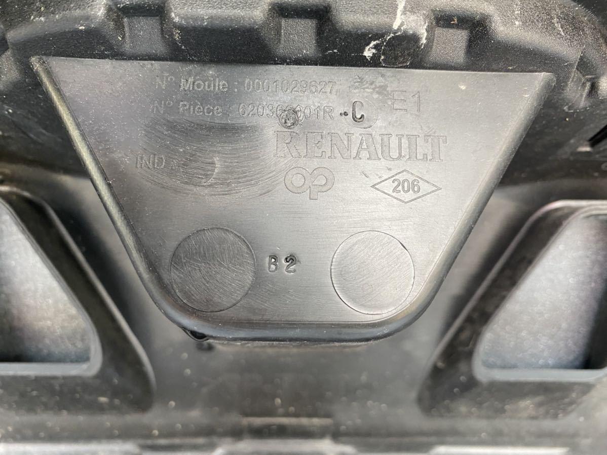 ルノー メガーヌ スポール RS 純正 フロント バンパー サポート ロアグリル デイライト カナード フォグ  セット カラー パール_画像10