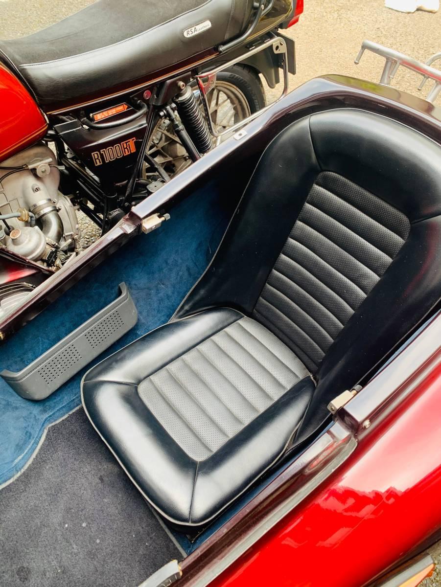 「BMW R100RT+ABEZ製 サイドカー 稀少3名登録」の画像3