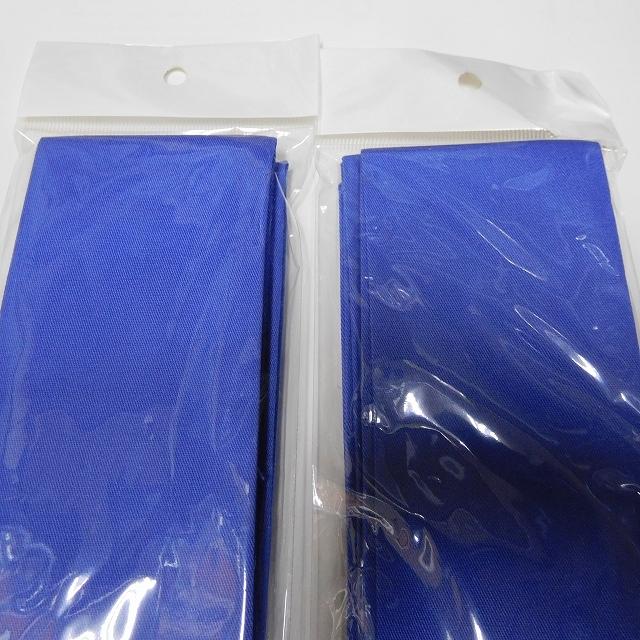 【税0円】【激安特価!!!】竿袋 カラー1層式 6×135cm ブルー2枚 【新品未使用】_画像2