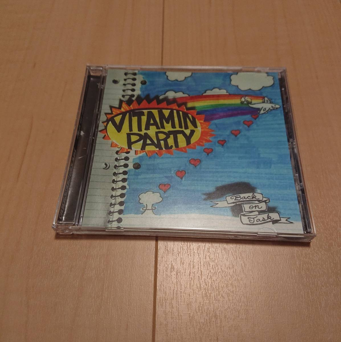 【Vitamin Party - Back On Task】fifteen look out plow inited pop punk
