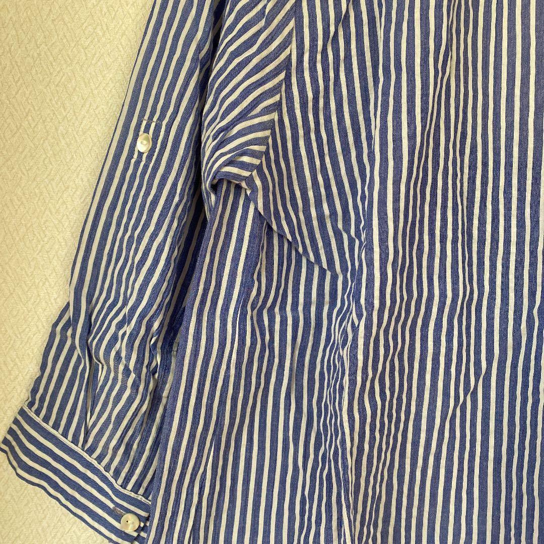 シップス トップス シャツ ブラウス ストライプシャツ
