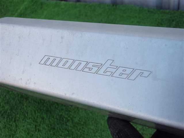 HT81S スイフトスポーツ モンスタースポーツ Monster Sport リアアンダーパネル アンダーガード ラリーなどに!!! 320245JJ_画像3