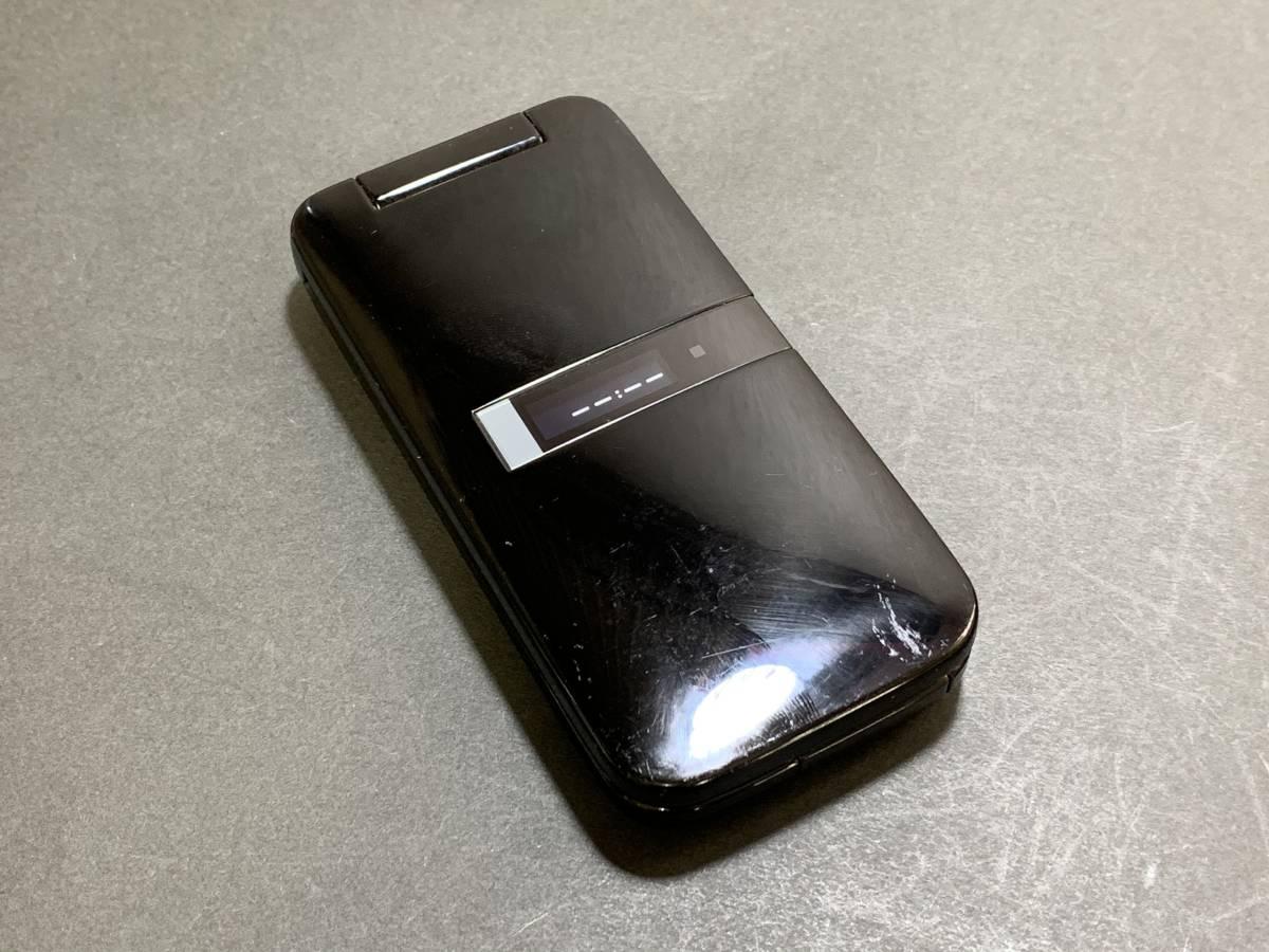 Softbank ガラケー PANTONE 4 ブラック 105SH ソフトバンク 中古 本体_画像2