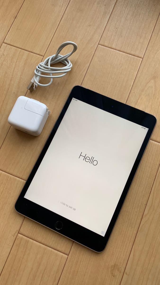 Apple iPad mini 第4世代 MK6Y2J/A 16GB Cellular Wi-Fi