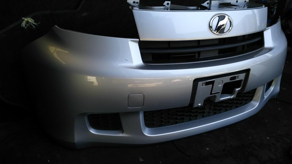 トヨタ bB QNC20 21 H21年 フロントバンパー S28 ブライトシルバーメタリック_画像6