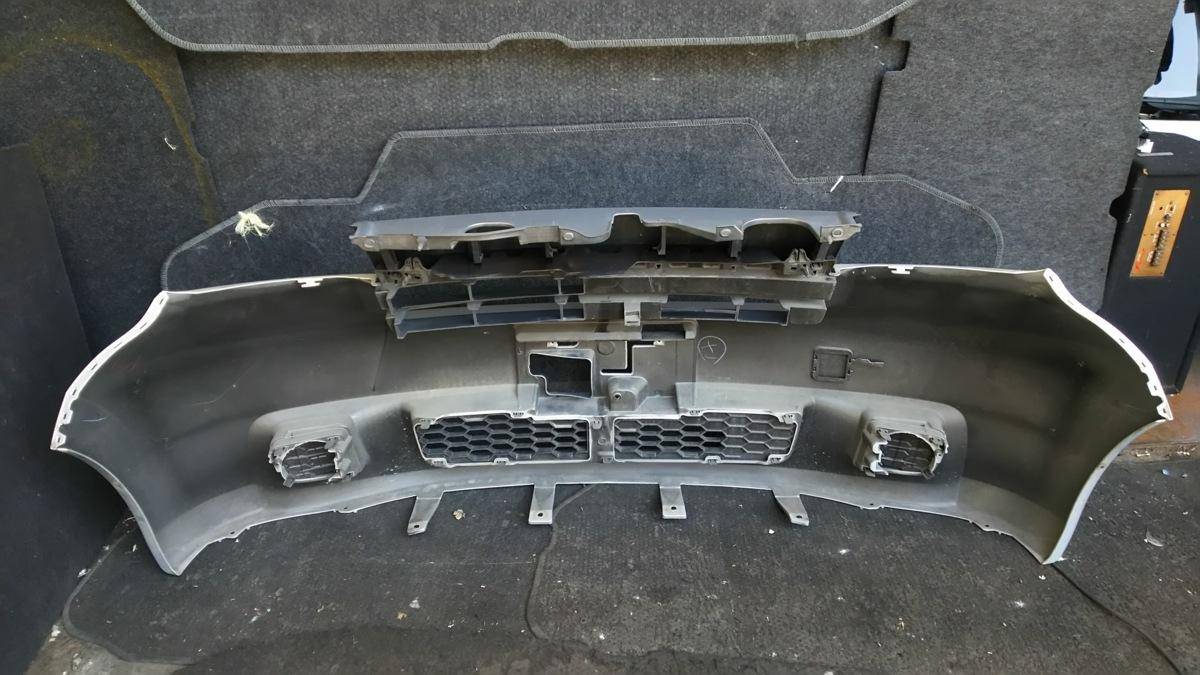 トヨタ bB QNC20 21 H21年 フロントバンパー S28 ブライトシルバーメタリック_画像10