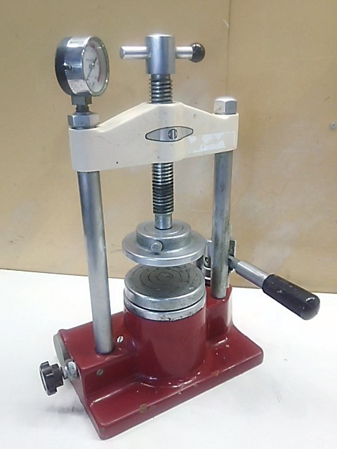 【1円スタート!】モリタ フラスコプレス 油圧プレス 型式不明 歯科技工 ハ2112_画像1