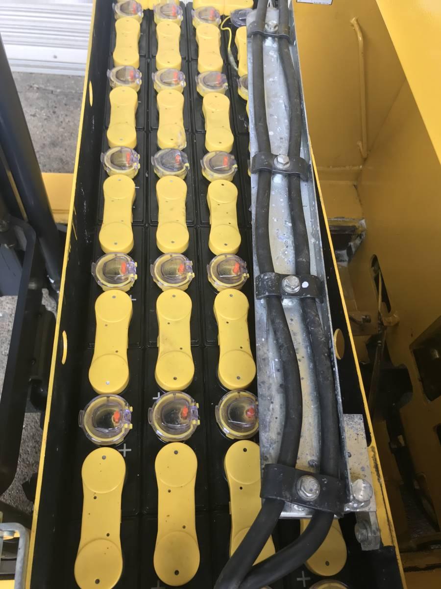 コマツ FB10RS-12 リーチ・プラター バッテリー フォークリフト専門店 メンテナンス済み 1トン 奈良発 その他多数出品_画像8