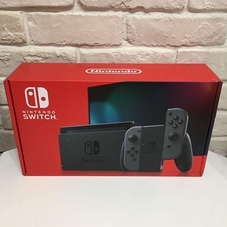 ★新品・未開封★ニンテンドースイッチ 本体 グレー 新モデル Nintendo Switch