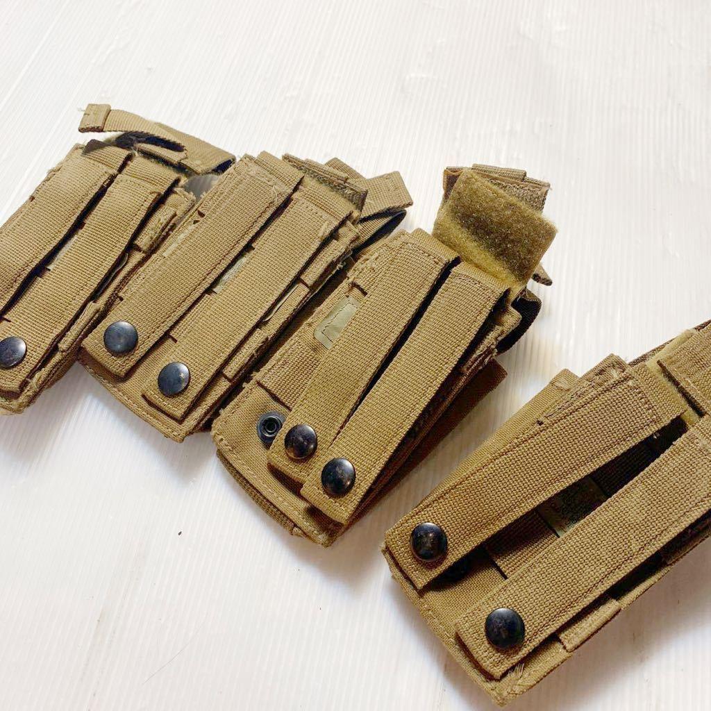 米軍放出品 海兵隊 USMC リーコン M4 M16マガジン用 スピードリロードポーチセット_画像2