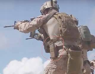 米軍放出品 USMC 海兵隊 コヨーテ スピードリロード M4 M16マガジンポーチセット 中古_画像4
