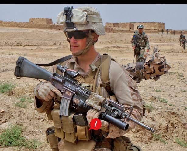 米軍放出品 海兵隊 USMC リーコン M4 M16マガジン用 スピードリロードポーチセット_画像5