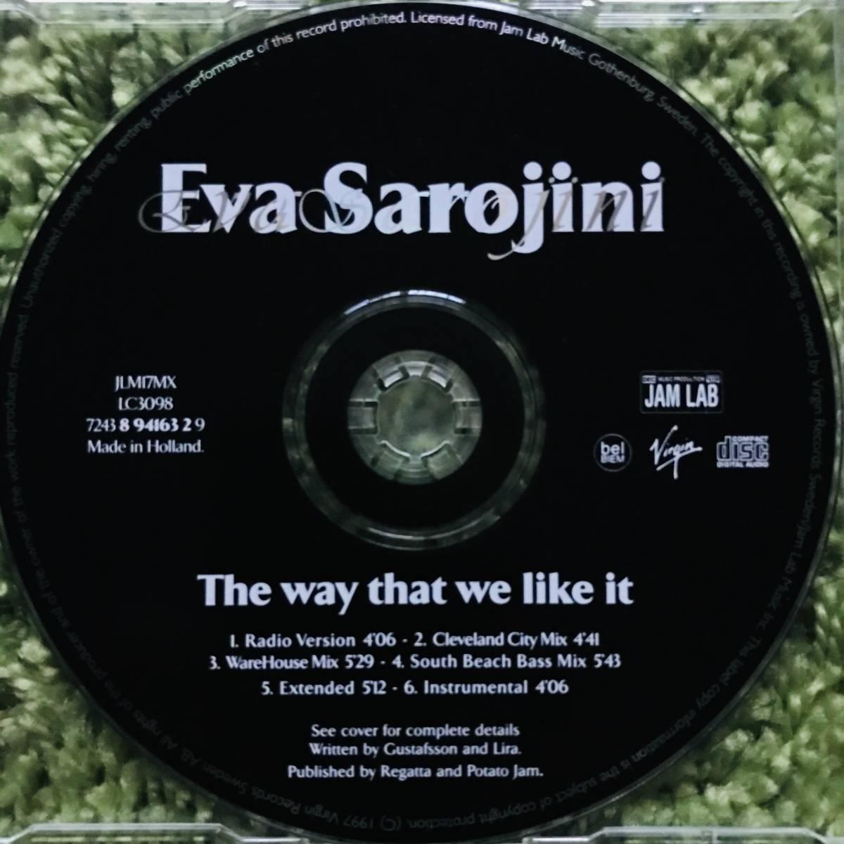 【CD Single】Eva Sarojini/The Way That We Like It Europe盤