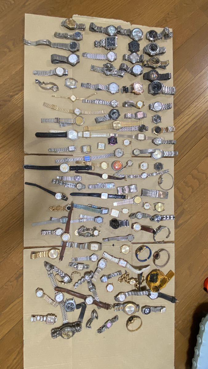 腕時計 SEIKO Casio Swatch Citizenなど100点 以上おまとめ 不動品 ジャンク品