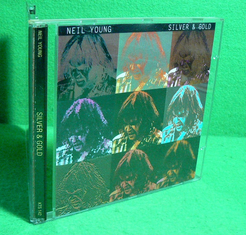 ★CD★ニール・ヤング★NEIL YOUNG★SILVER & GOLD★Made in Italy 1993★