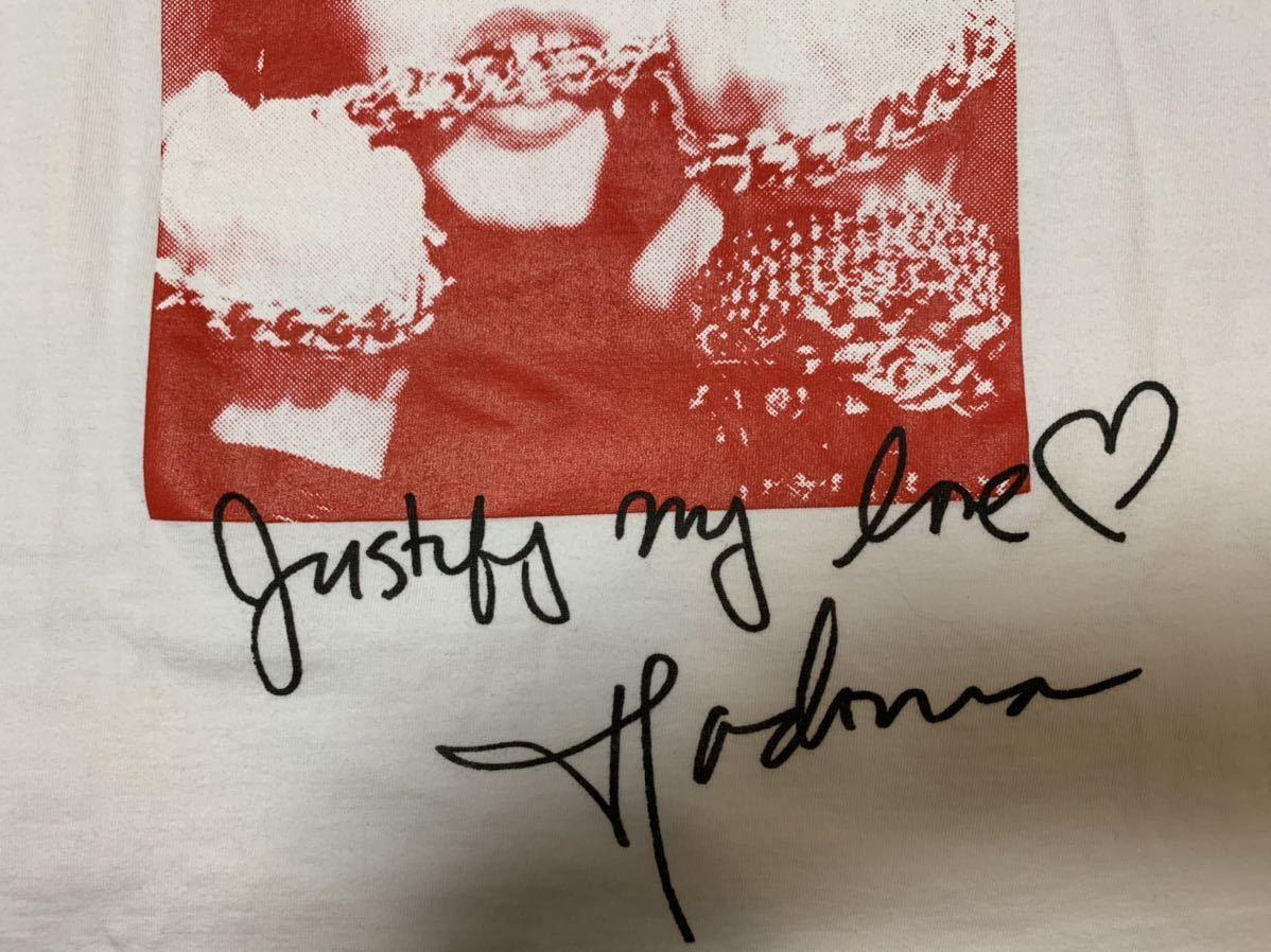 M Supreme Madonna Tee 18FW Medium White シュプリーム マドンナ Tシャツ 半袖 ホワイト 白 18AW_画像5