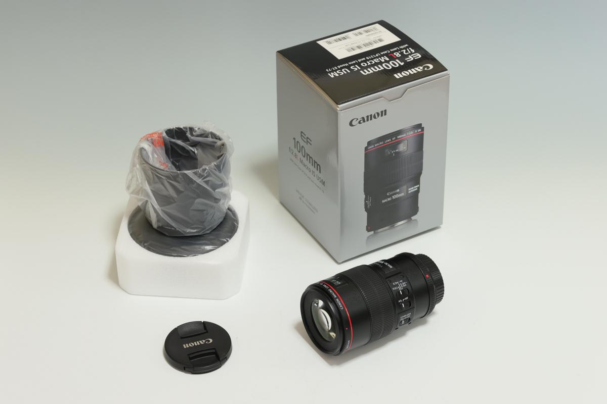 CANON EF100mm F2.8L マクロ IS USM 使用回数少ない